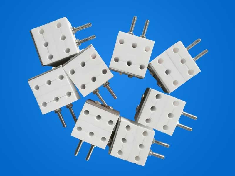 非标定制塑料管夹PTFE四氟管夹