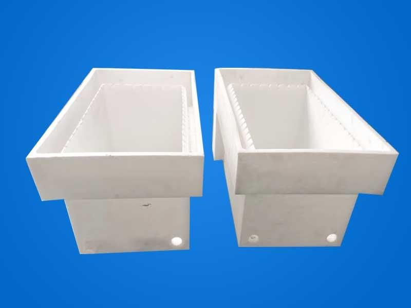四氟盐酸反应过滤槽PTFE酸碱过滤水槽