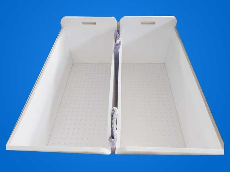 焊接特氟龙水箱PTFE水槽