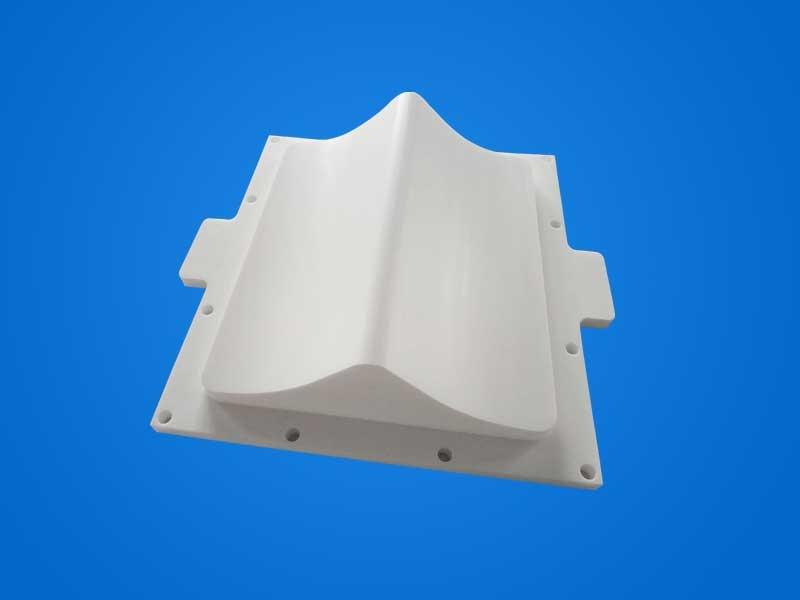 食品级四氟压盖PTFE非标定制塑料压盖